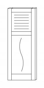 volet bois repliable en tableau. Black Bedroom Furniture Sets. Home Design Ideas