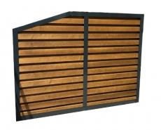 brise vue claustra fixe style contemporain pour particulier bvab100. Black Bedroom Furniture Sets. Home Design Ideas