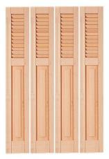 volet bois repliable en tableau style pour particulier. Black Bedroom Furniture Sets. Home Design Ideas