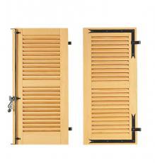 volet bois battant persienne ajour e la fran aise toute haut vlf32. Black Bedroom Furniture Sets. Home Design Ideas