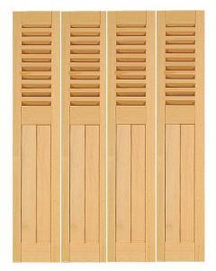volet bois repliable en tableau persienne ajour e la. Black Bedroom Furniture Sets. Home Design Ideas