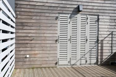 Préférence Fabricant français de fermetures bois sur mesure, volets, porte de  LM92