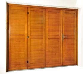 Porte de garage bois sur mesure gpf for Porte de garage bois 2 vantaux sur mesure